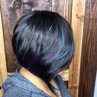 Hair eco salon full weave
