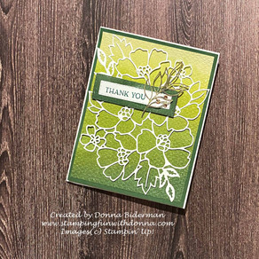 Blossoms in Bloom and Artistry Blooms | Wednesday Wow! | Stampin' Up!