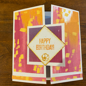 Simple yet Special Happy Birthday Card!