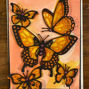 Butterfly Beauty dies - a Favorite