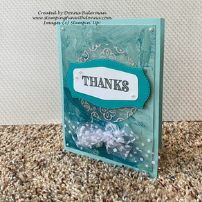 Thank You Card for Kylie's International Blog Highlights