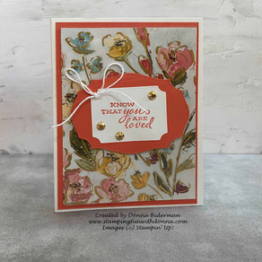 The Prettiest 5 Minute Card Ever | Fine Art Floral DSP