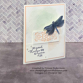Dragonfly Garden Card for Global Design Project