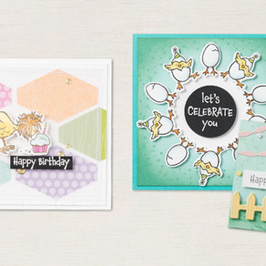 Hey Chick and Hey Birthday Chick Stamps, Dies and Bundles!