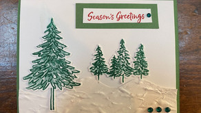 Seasons Greetings with In the Pines and Pine Woods