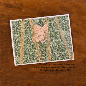 Gilded Leafing and Forever Greenery Designer Series Paper