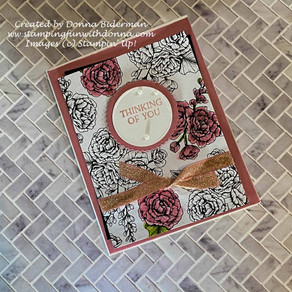 True Love Designer Series Paper Meets Stampin' Blends