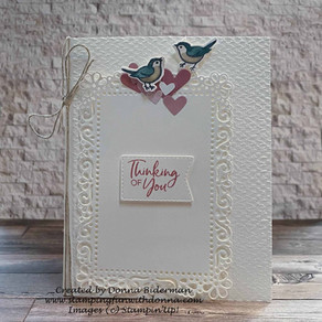 Elegant Card with Quite Curvy and Ornate Layers | Wednesday WOW! |GDP#276