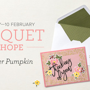 February PaperPumpkin - Bouquet of Hope