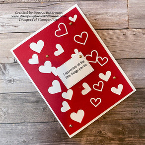 So Many Hearts! Happy February | Stampin' Up!