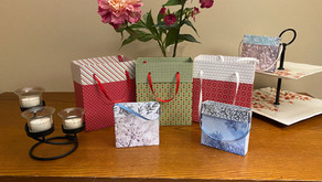 Make Gift Bags from Designer Series Paper!
