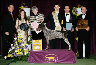 """Dr. T's Westminster Win with """"Topper"""" 2006"""