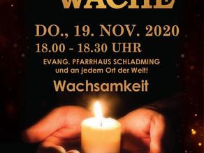 Mahnwache - 2. Lockdown (17.11. - 6.12.2020)