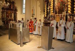 Altarweihe in Schladming