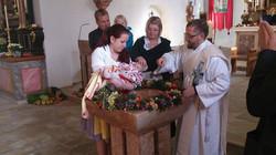 Taufe in Assach