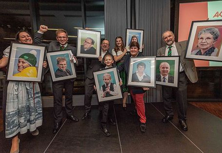 """""""Die Stimme erheben"""" - Kopf des Jahres 2019"""