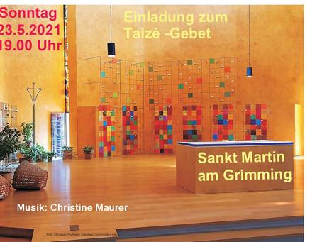 Taizé- Gebet in St. Martin am Grimming
