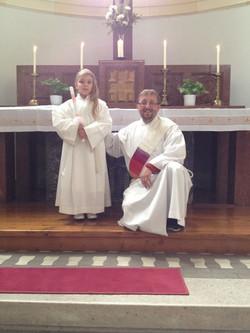 Taufe meiner Nichte in Neusimmering