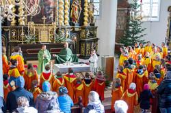 Heilige Messe in Schladming am 24.12