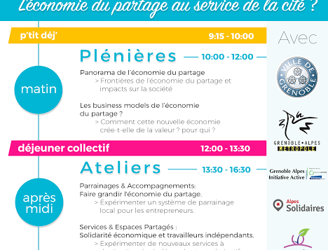 Zoom sur l'économie de partage avec le Sharin' Grenoble !