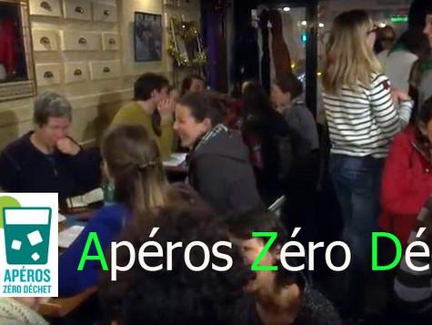 Du nouveau pour le projet Apéros Astuces Zéro Déchet !