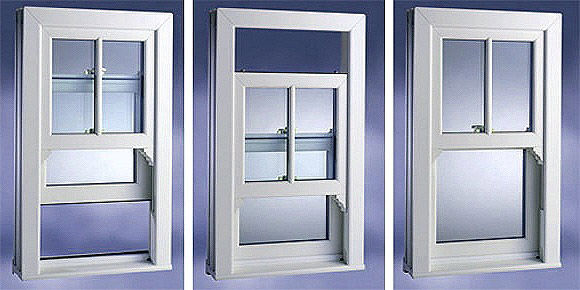 uPVC Vertical Sliding Sash Window