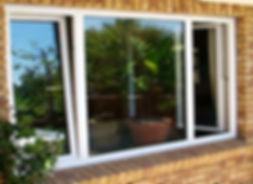 uPVC Tilt and Turn Window in White Colour