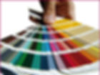 swatch examples of colours