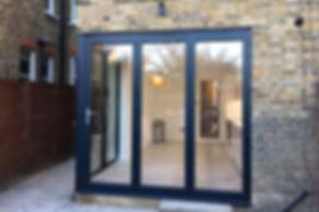 Bi-Fold Aluminium Doors Anthracite Grey