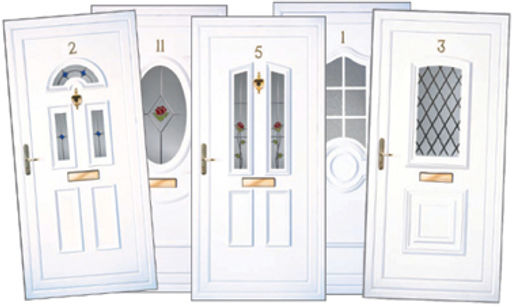 upvc doors in different designs