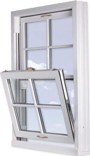 Verticle Slider Window Tilted