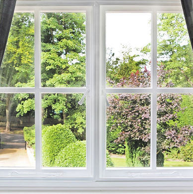 Secondary Glazing in White Colour