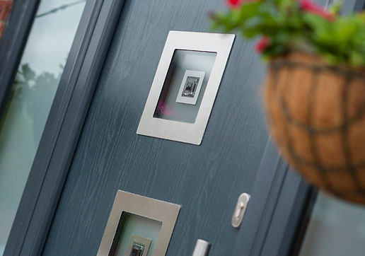 Anthracite Grey  Composite Door Contemporary Style from Visage