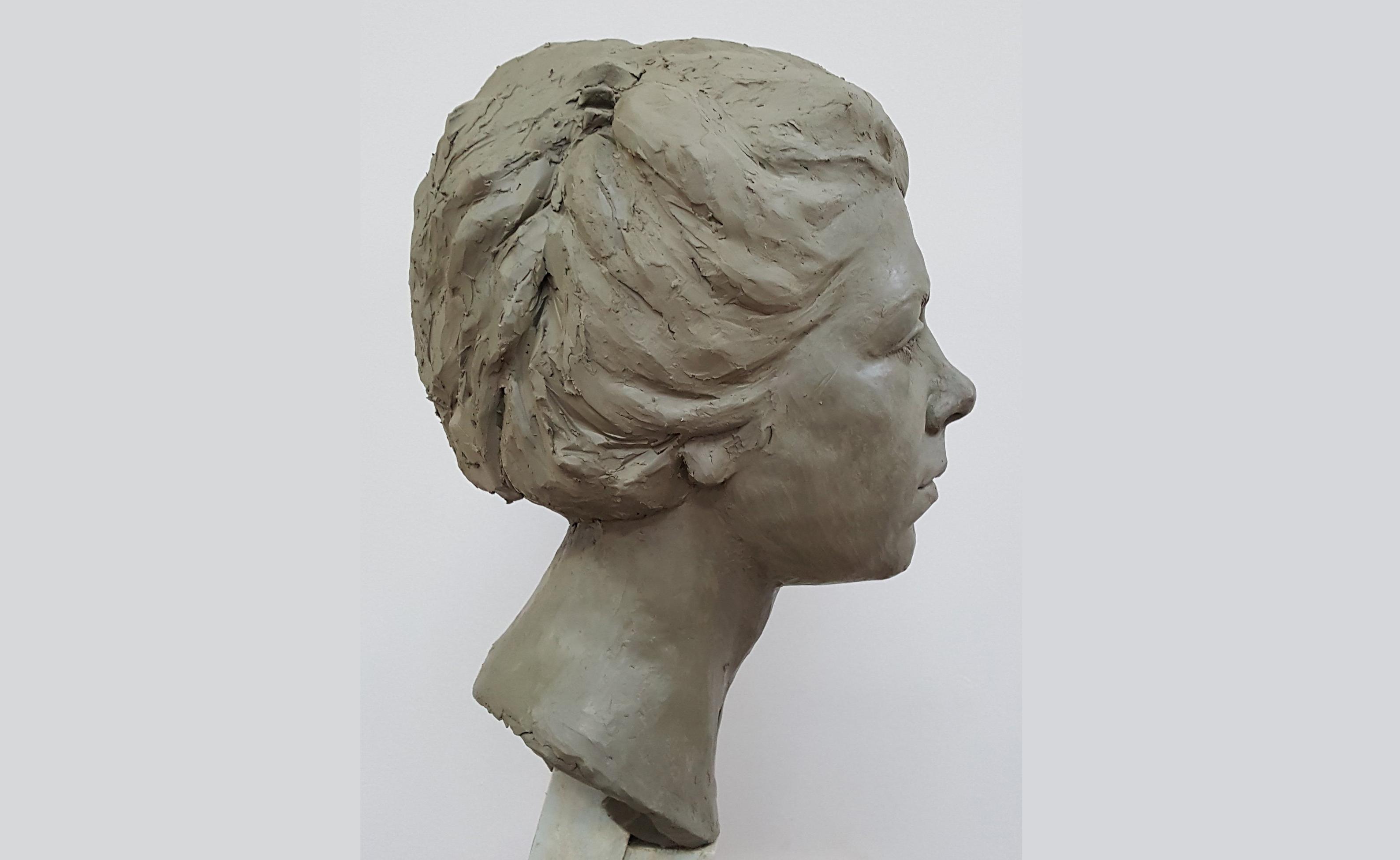 Portrait of Celeste side view
