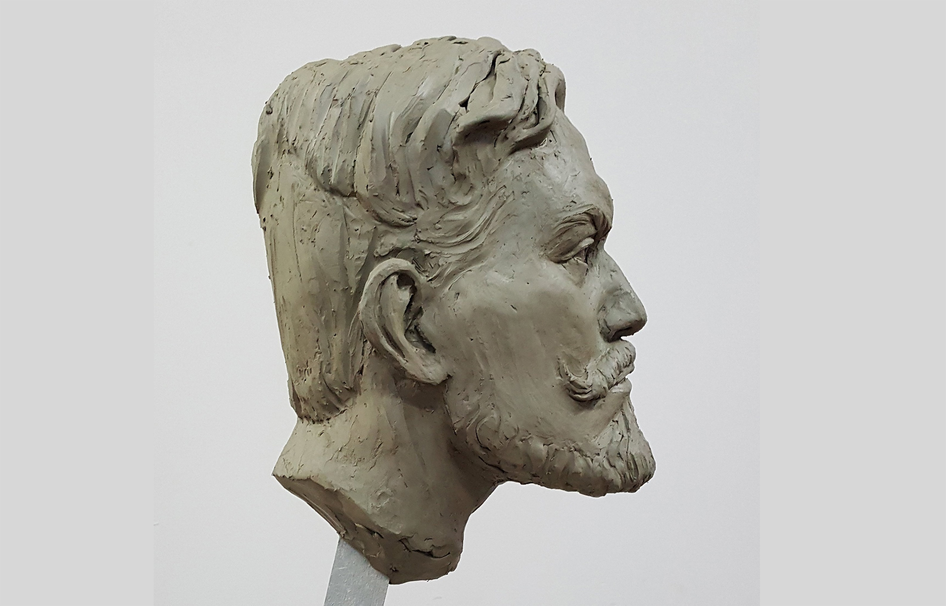Portrait of Andre side view