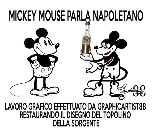 Topolinomickey Mouse Parla Napoletano