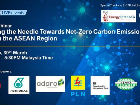 Net Zero Carbon Emissions in ASEAN