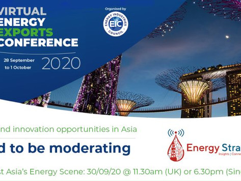 Energy Exports Conference 30 Sep 2020