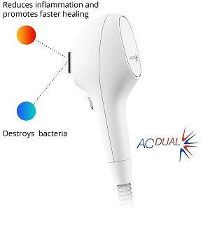Venus AC-dual.  IPL, laser treatment for acne and blemish reduction.