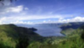 Mountainous Landscape by the Sea