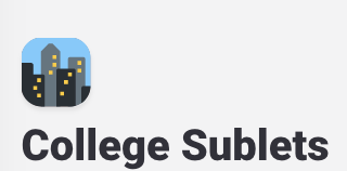 Why You Should Join College Sublets
