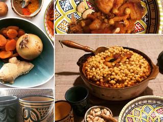Maroko įkvėpta vakarienė