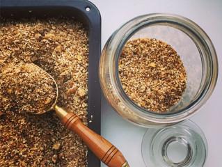 Kodėl vėlavo granola, arba neprarask balanso, nes nugriūsi.