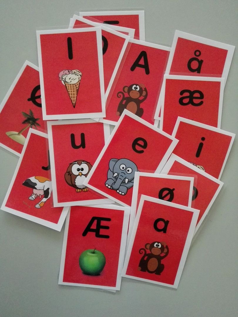Kluddermors Alfabetkort