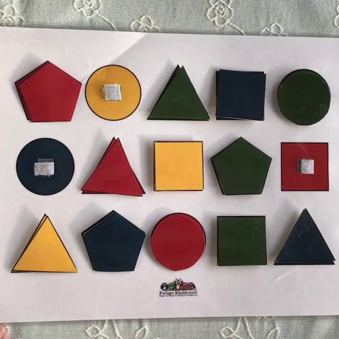 Kluddermors Form- og farvematch