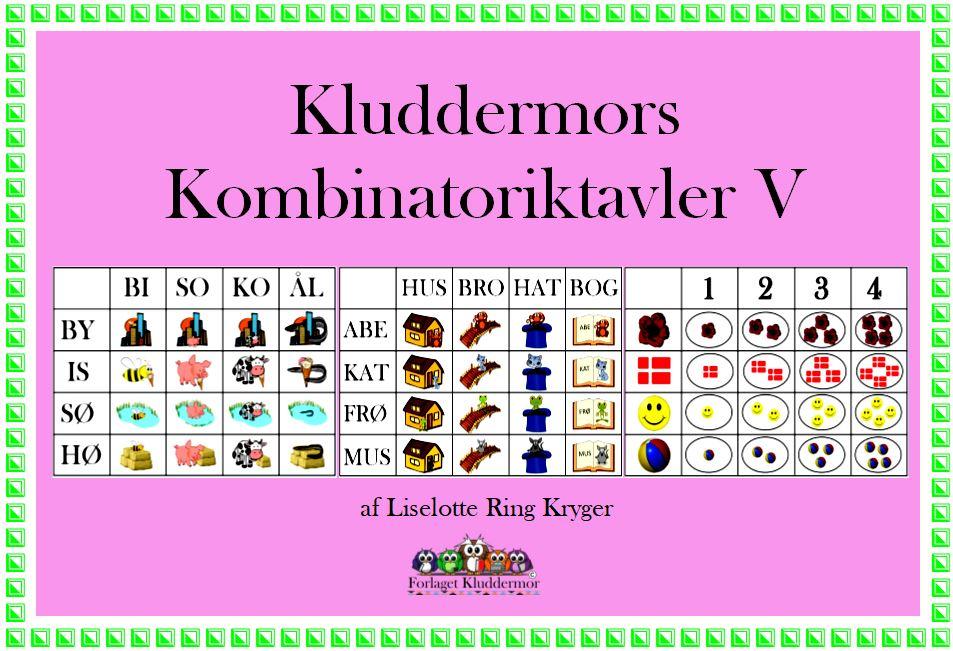 kombinatoriktavler V forsiden