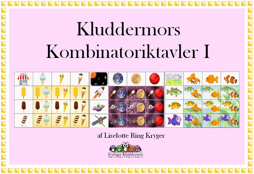 kombinatoriktavler I forsiden