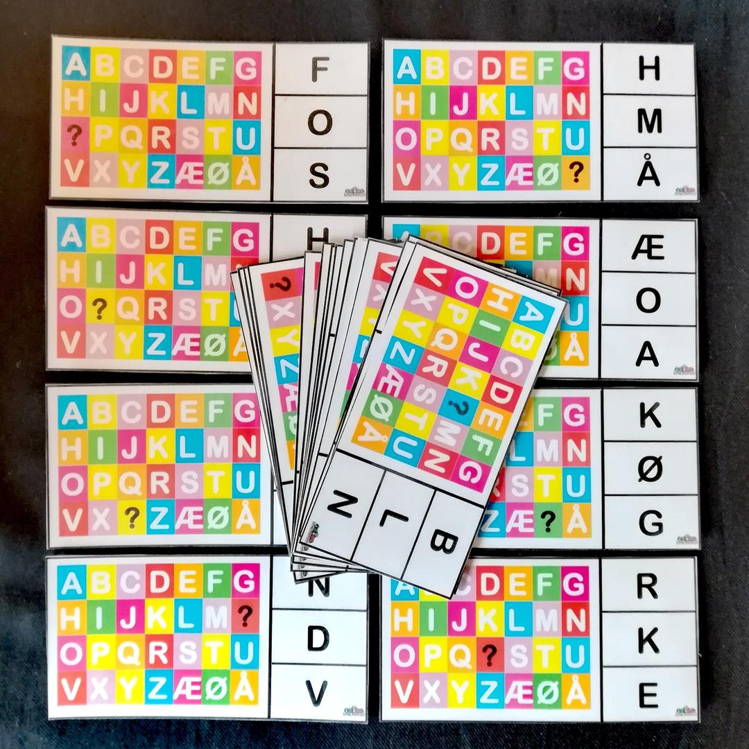 Kluddermors Alfabetklemmer
