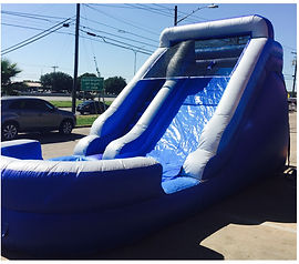 Ocean Breezw Water Slide Party Rentals | Austin TX | Temple Tx   Tsunami Water Slide