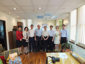 Academic Delegation from Nanjing University, China